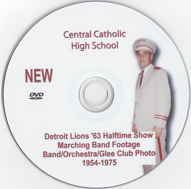 Band Detroit Lions '63 Halftime Show DVD.jpg